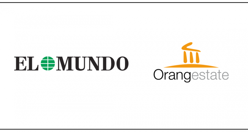 Orangestate was featured in El Mundo, the second largest printed daily newspaper in Spain