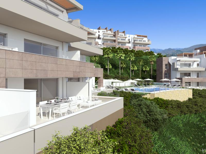 Apartments grand view la cala golf Mijas